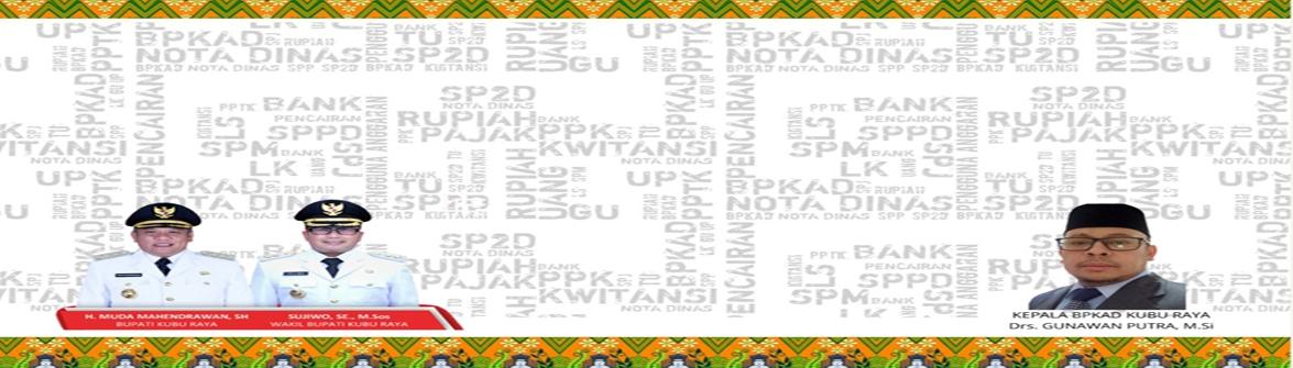 WELCOME BPKAD TAHUN 2020